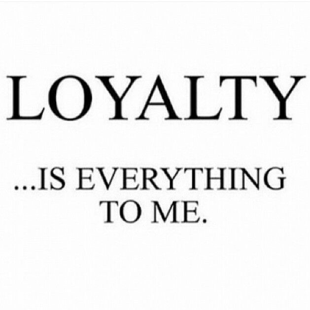 L O Y A L T Y is E V E R Y T H I N G Loyalty Requires You Being Who You Claimed to be Since Day One. Loyalty Requires Commitment & Consistency. Don't be Fooled Whether its Friendship, Business, or Marriage A Person that Betrays Others they Claim to Love will Betray You to. The Principles in which One Lives by Reveals A lot about Who They Are. Always Seek to Hear What is Left Unsaid because In that You'll Discover Ones True Motives & Intentions. What Does Loyalty Means to You ?…