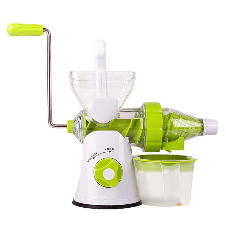 ice cream machine & slow juicer Fruit Vegetable Tools Plastic Multifuctional Fruit Squeezer hand juicer machine