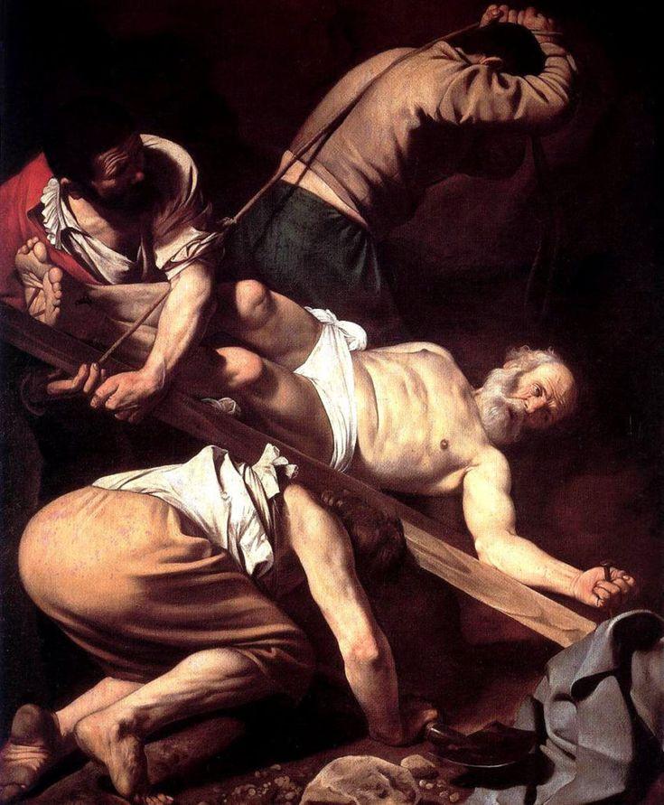 Микеланджело Караваджо. Мученичество Св. Петра. 1600-1601 гг.