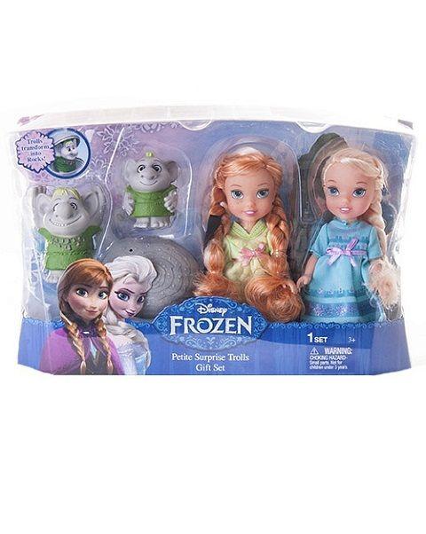 Disney Принцессы Дисней Холодное Сердце 2 куклы 15 см и тролли