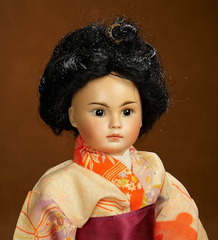 German Bisque Portrait of Asian Child, Model 220, by Bahr and Proschild 800/1100