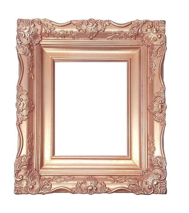 4 Ornate Baroque French Rose Gold Picture Frame Sizes Etsy Rose Gold Picture Frame Gold Picture Frames Gold Framed Mirror