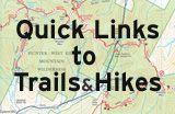 Split Rock Loop/Four Birds Trail Short Loop. Morris County. Waterfalls.