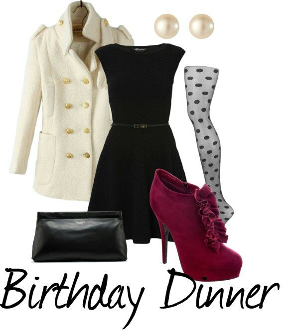 Birthday dinner outfit