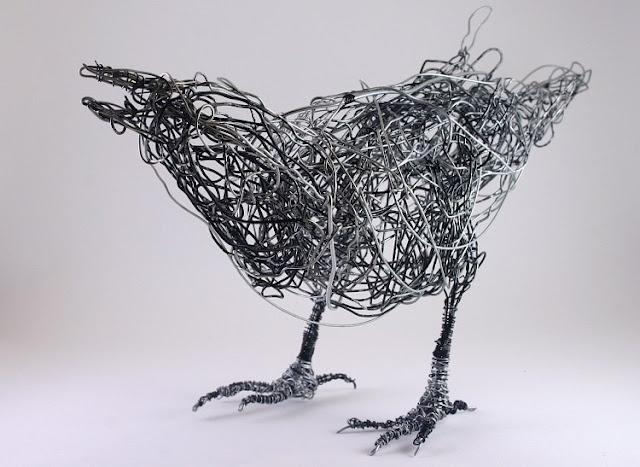 98 best Imaginative Wire Art images on Pinterest | Wire sculptures ...