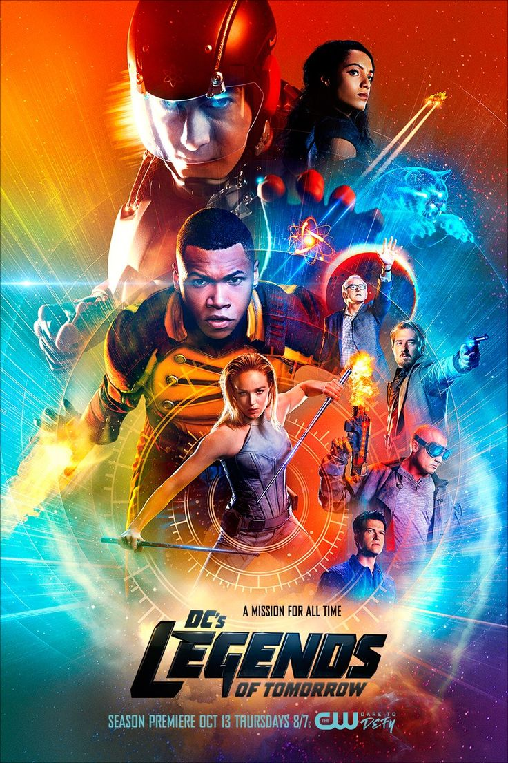 Legends of Tomorrow  Finally, here's a new poster for the show's second season.