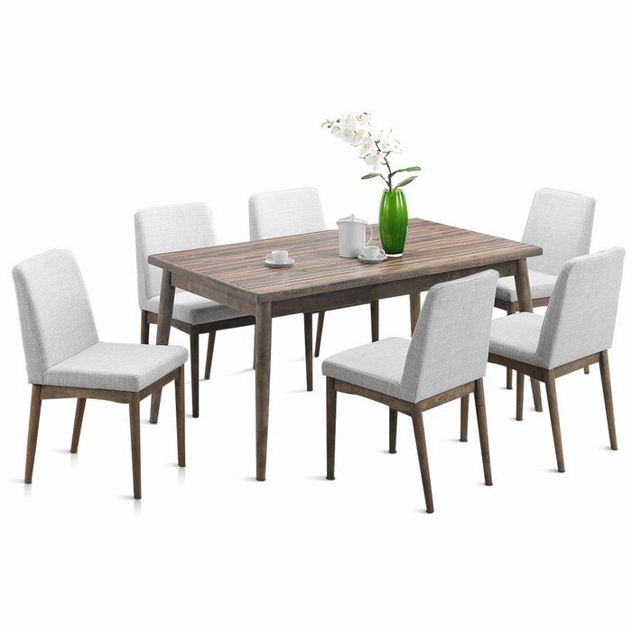 Ebel 7 Piece Dining Set With Images 7 Piece Dining Set Dining