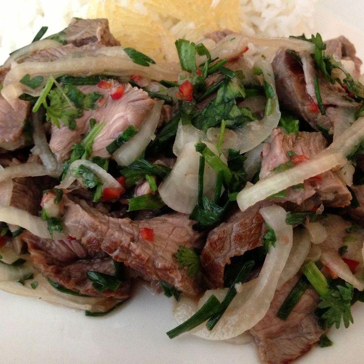 Spicy Thai Steak Salad recipe on Food52