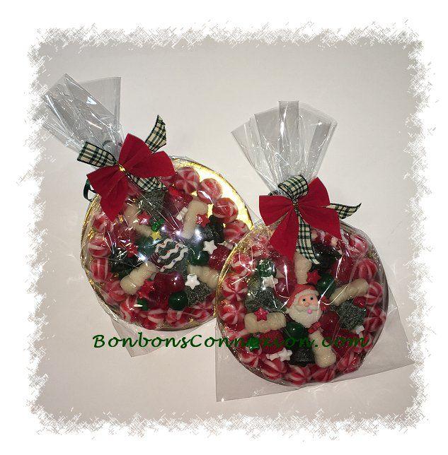 Candy pizzas to enjoy all for yourself or to share with someone special. Les pizzas de bonbons à déguster seul ou à partager avec une personne chère.  #ChristmasCandyPizzas #PizzaBonbonsNoel