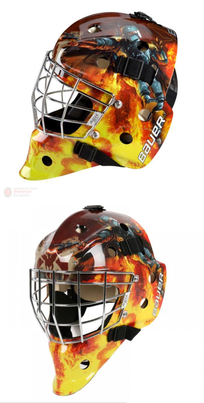 Face Masks 79762: Bauer Nme 3 Goalie Mask - Boba Fett - Sr - New!!! -> BUY IT NOW ONLY: $129.99 on eBay!