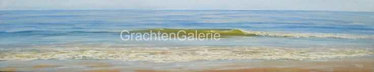 Loom Golfje | Cees Vegh | Schilderij | Landschap | Landscape | Art