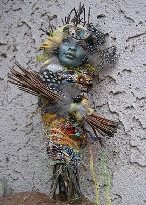 Art doll by Griselda