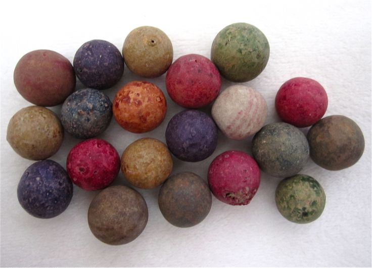 Antique Clay Marbles Games Boards And Pieces Pinterest