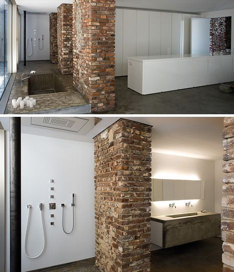 La sala de baño esta increíble. La bañera :)/La salle de bain est tres incroyable. La baignoire :)