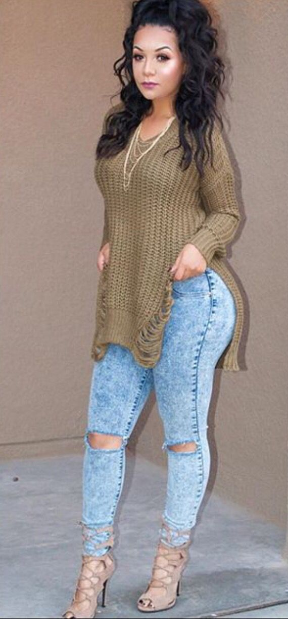 25  best ideas about Thick girls outfits on Pinterest | Thick girl ...