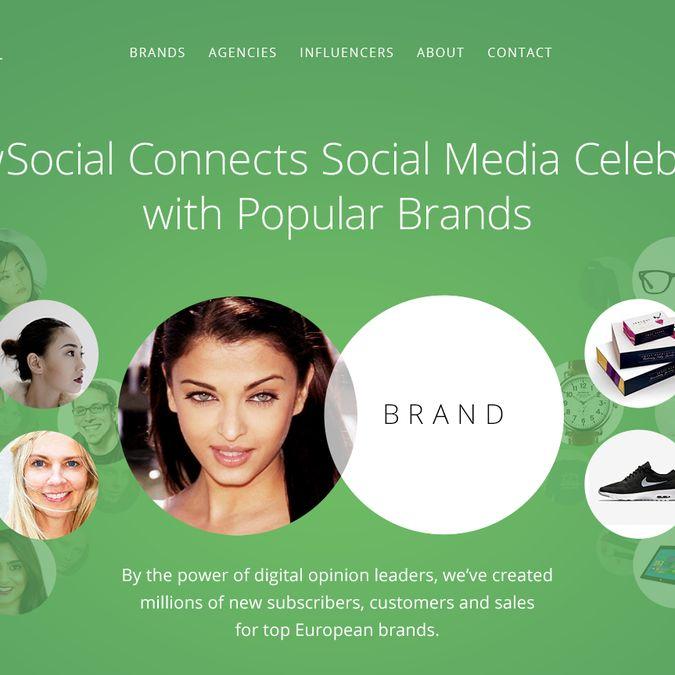 Fun design job - Marketing company website (recurring work for the winner) by Artem Brimsky