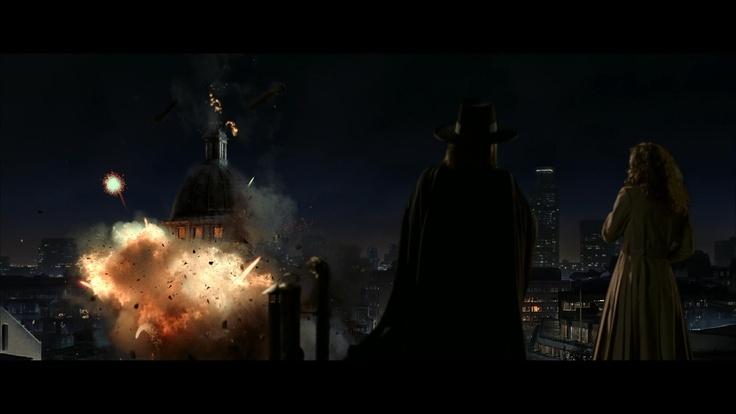 En V de Vendetta, Evie aprendía el significado de la libertad a golpe de bomba
