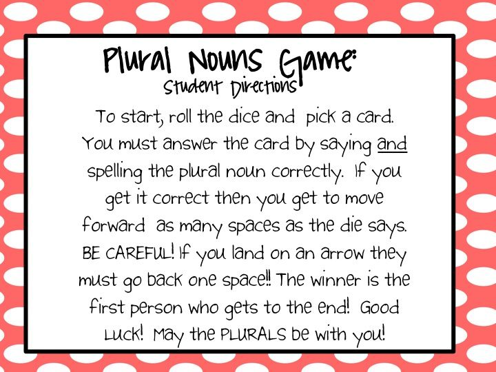 1000+ images about plural nouns on Pinterest | Activity books ...