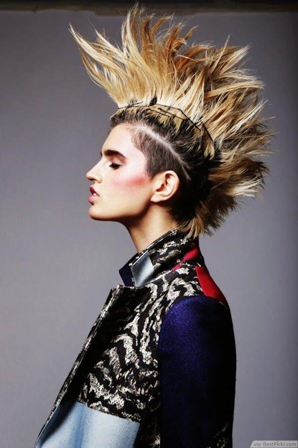 Erstaunlich Frisuren Frauen Punk