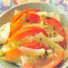 Venkelsalade met tomaat