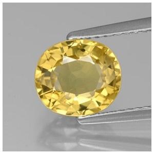 Jual Batu Mulia Safir - Yellow Golden Sapphire