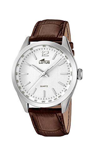 Lotus 18149/1 - Reloj de pulsera hombre, Cuero, color Marrón Para ver mas visita este enlace https://cadaviernes.com/ofertas-de-reloj-de-pulsera-hombre-lotus/