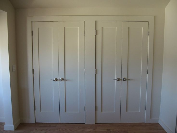 Shaker Style Closet Doors Basement Pinterest You