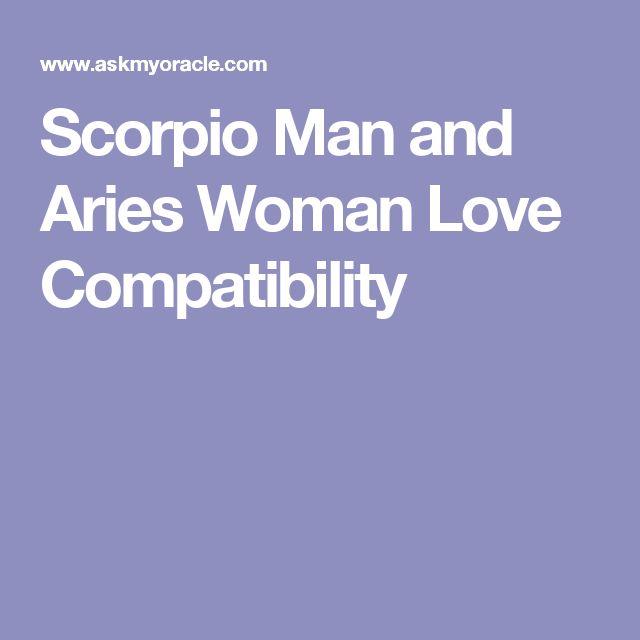 Scorpio Man and Aries Woman Love Compatibility