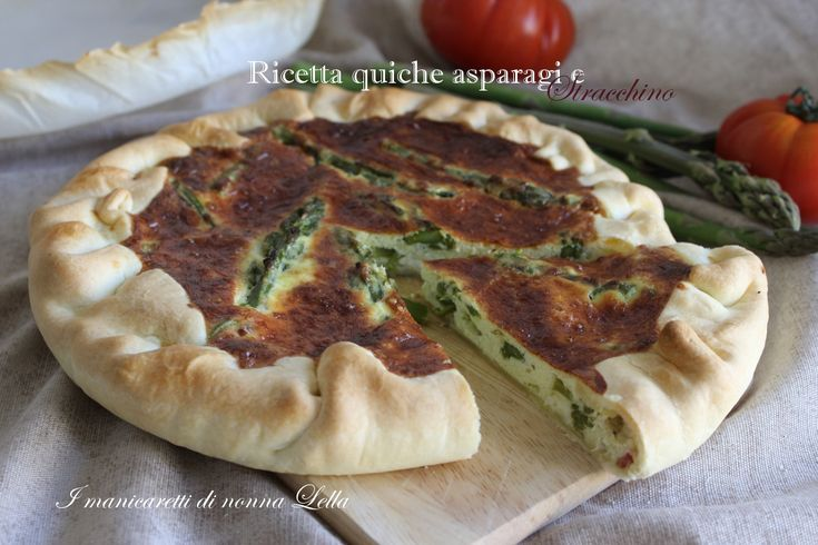 Ricetta quiche asparagi e pancetta