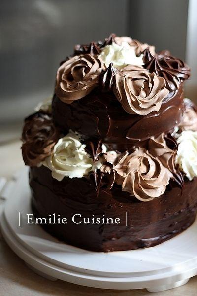* The Gateau absolutely fabulous * (Gateau à étage) - Les recettes d' Emilie ...