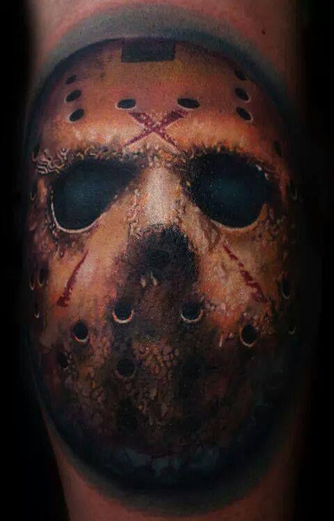 Friday the 13th tattoo by Mario Hartmann