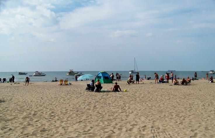 Lakeside Beach At Port Dalhousie