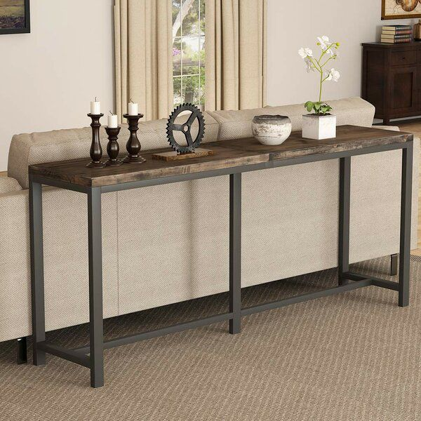 Boylon 70 9 Solid Wood Console Table In 2020 Console Table
