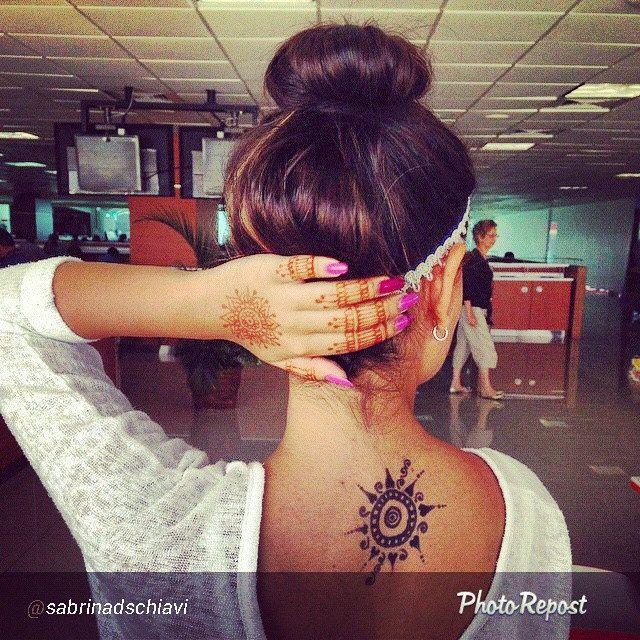 Mi clienta con su jagua tattoo y henna @thenailbarbeauty #henna #jagua #tattoo #hennashantalla #shantallalam #santodomingo #mehndi