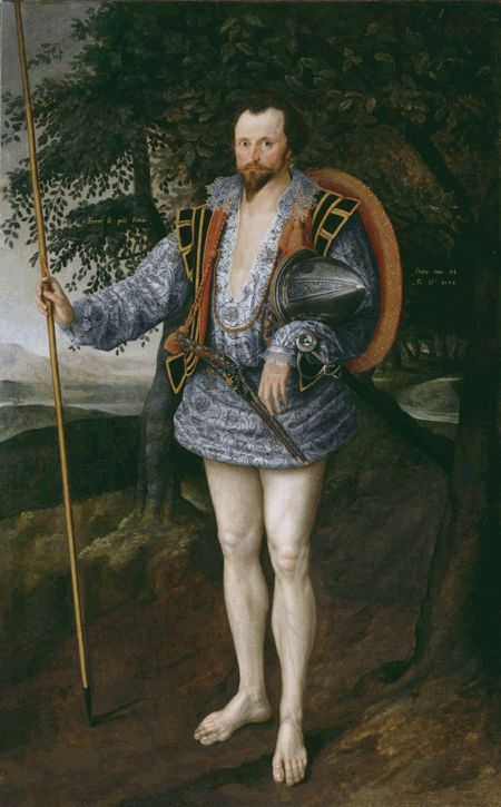 Happy Friday! Ok, it's from the 1540s Room, not the 1840s Room at Tate Britain, but this dancing Portrait of Captain Thomas Leemakes ...