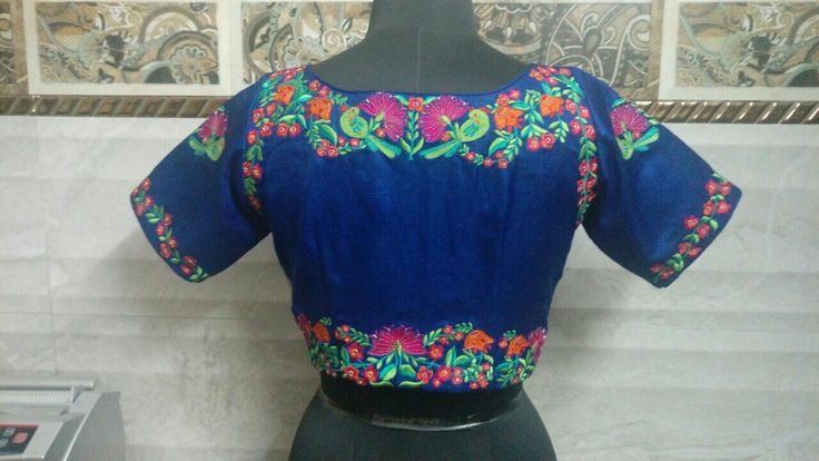 Exclusive customised blouse back