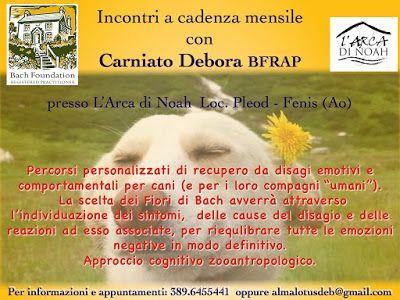 Almalotus ........ di Debora Carniato BFRAP   Consulente in Fiori di Bach per Animali: I Fiori di Bach approdano in Val d'Aosta!!!