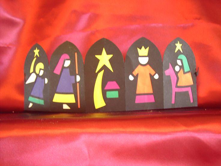 3d knutsel: Kerst lantaarn...