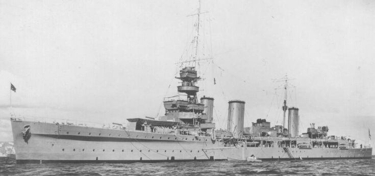 "HMS Enterprise British E-class type light cruiser, WWII. (Another ship with the name ""Enterprise"")"