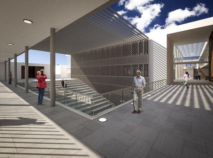 Concurso Construcción Proyecto Educativo Institucional de Andacollo / Plan Arquitectos www.planarquitectos.cl