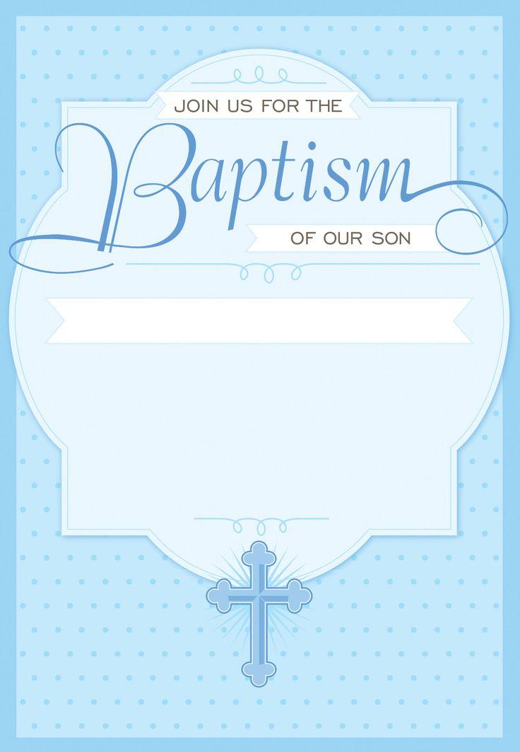 Free Invitation Baptismal Maker