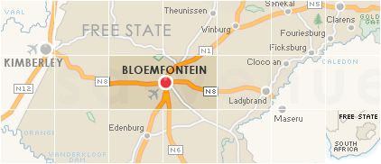 Accommodation in Bloemfontein