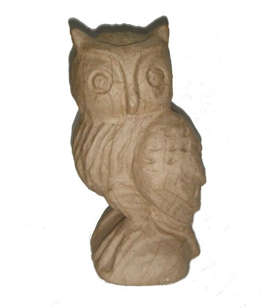 Buttercream inspiration by joannstores 302 diy and for Diy paper mache owl