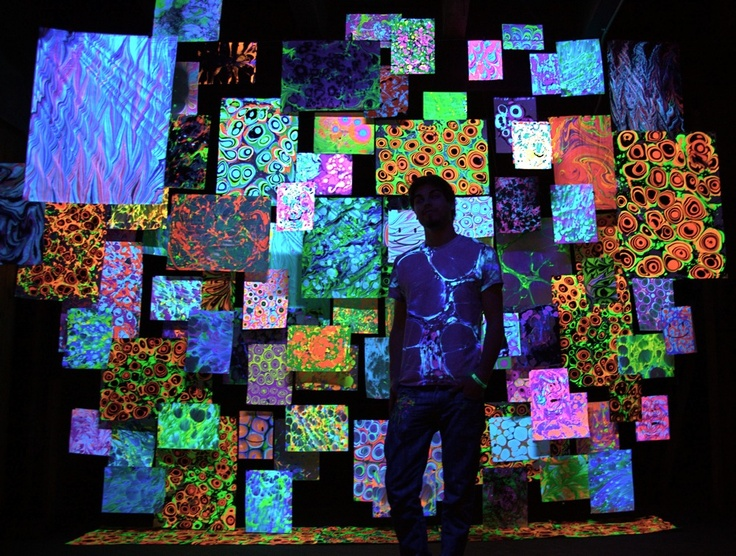 Decorating Ideas > UV And Black Light  #Neon #painting  Glow In Dark  ~ 060819_Blacklight Dorm Room Ideas