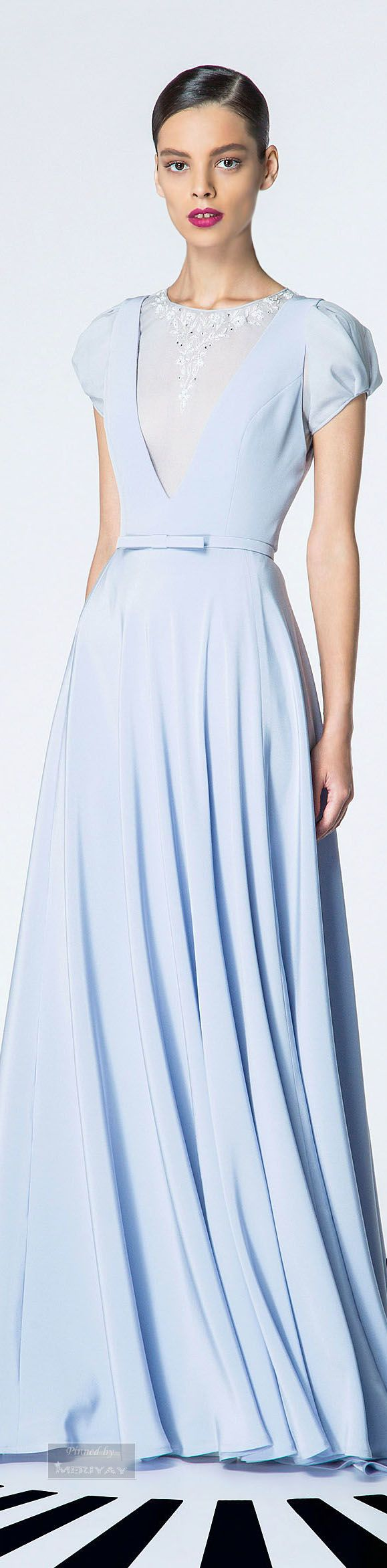 Georges Hobeika.. Inspirational for your black tie affair great for a teen or young woman very modest couture