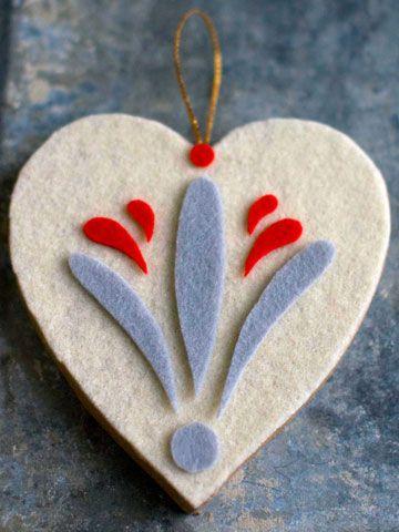 decoracion arbol fieltro
