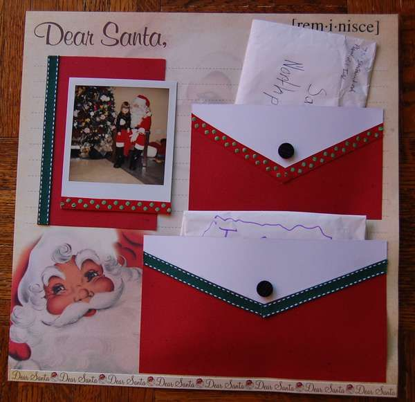 Keep copies of your children's letters to Santa. Put in a scrapbook to give to them when they're older. So cute!