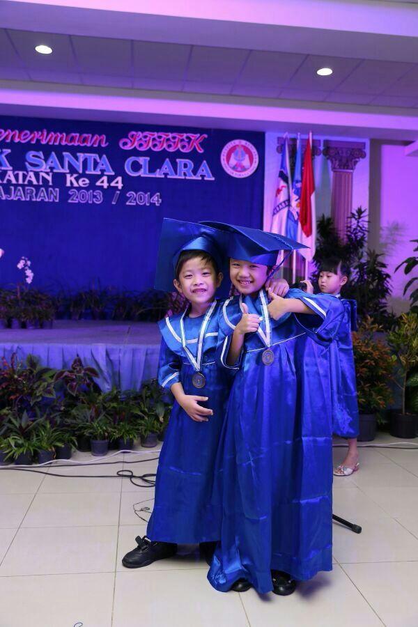 Rico's kindergarten graduation