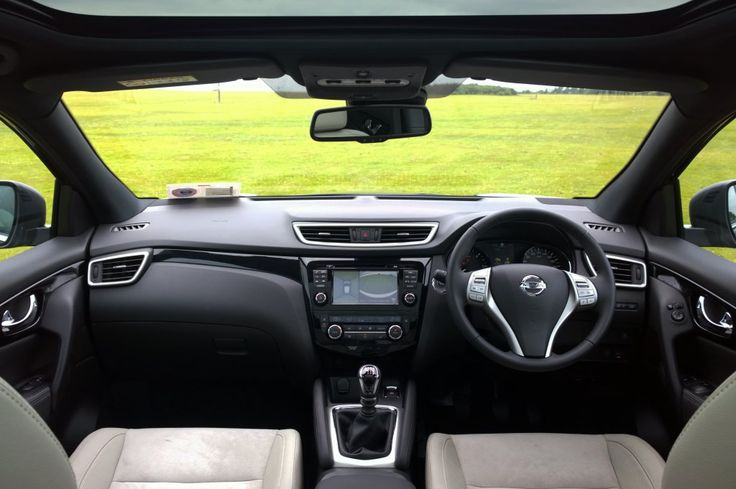 The cabin in the Nissan Qashqai has a hardwearing but luxurious feel to it
