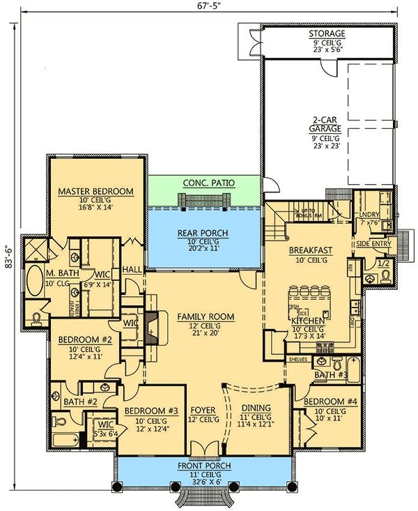 10 Best Ideas About Acadian House Plans On Pinterest